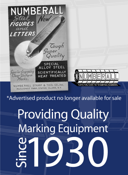 Numberall: An Industry Leader for 85 Years