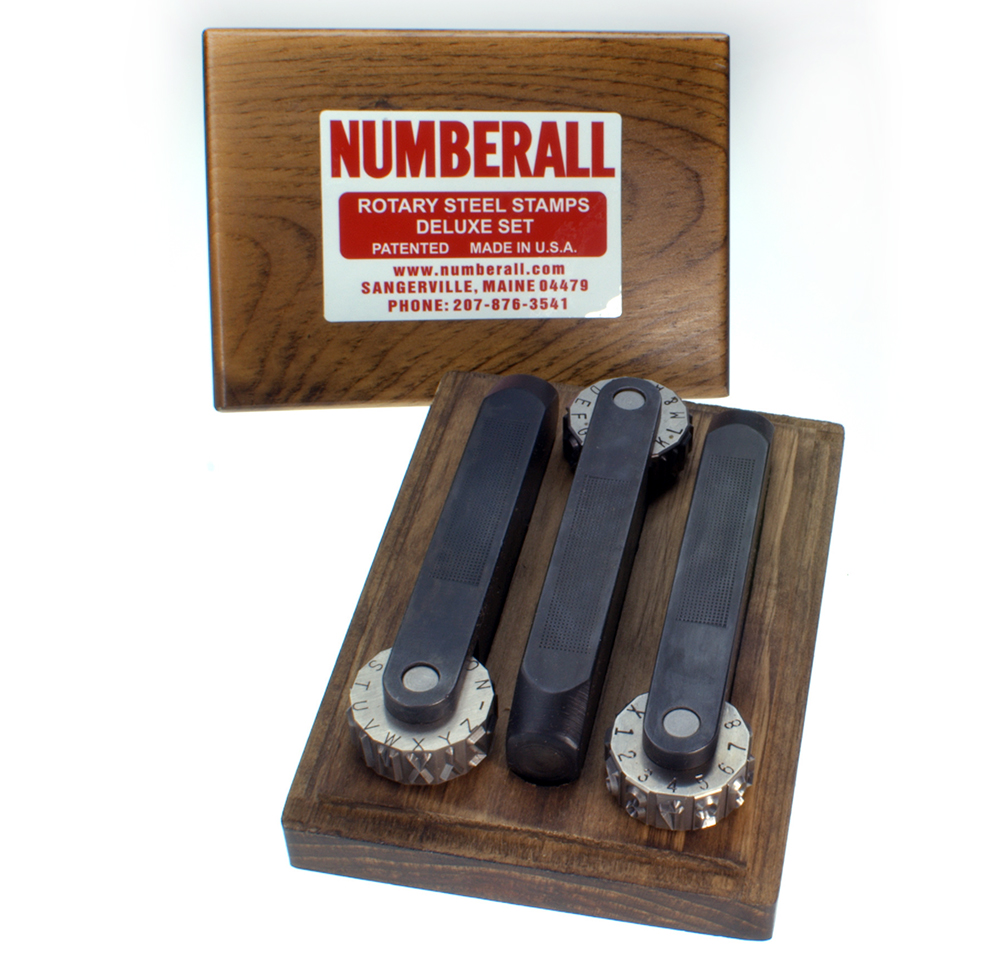 Numberall - Rotary Stamps - Model 36B