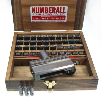 Numberall Model 23 Type Holder