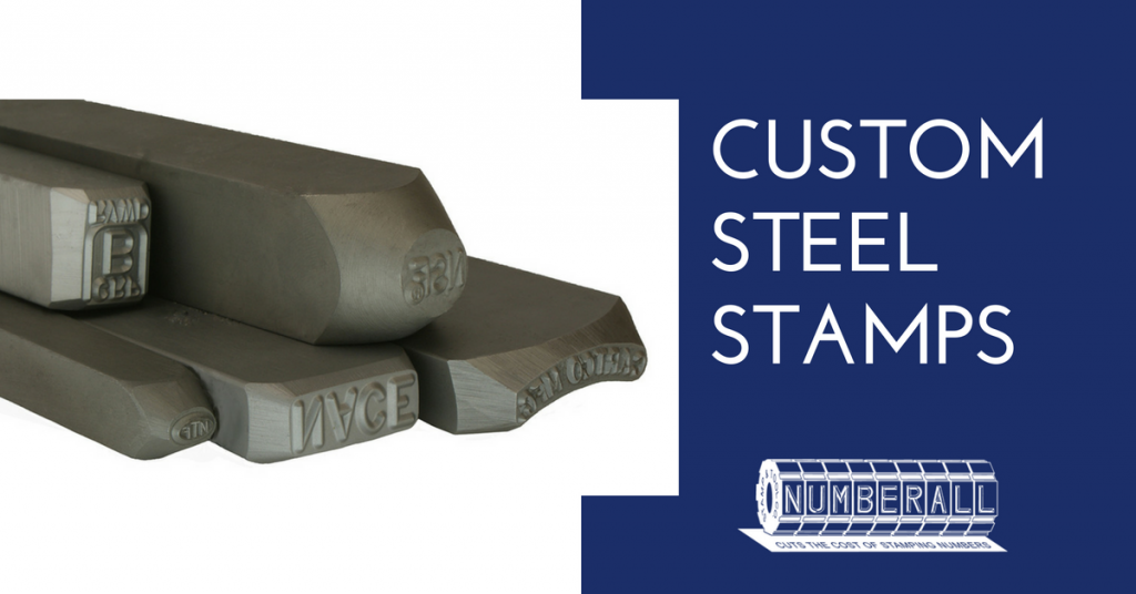 Ordering Custom Steel Stamps from Numberall | Numberall Blog